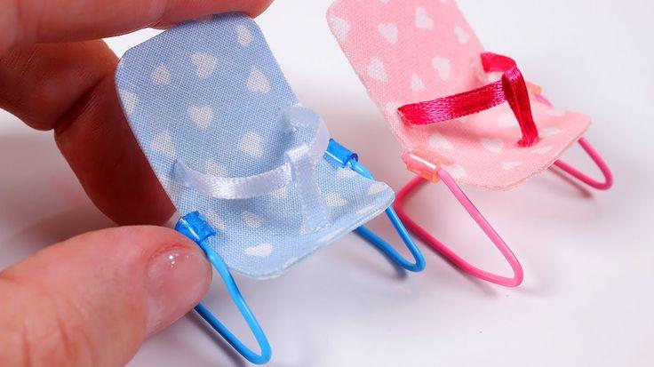 DIY Miniature Baby Bouncer