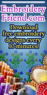 Free Embroidery Patterns and Free Machine Embroidery Designs-Embrofree.com