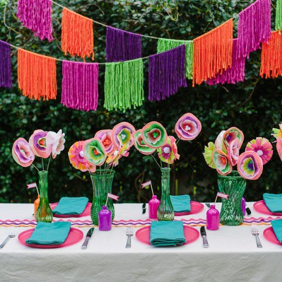 170 best images about mexican themed parties on pinterest for Mexican party decorations