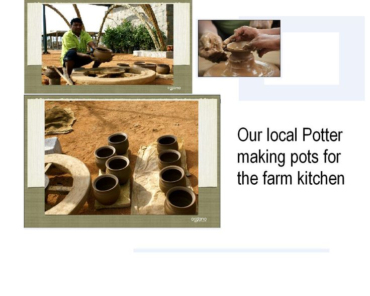 This man is the last of his family who is into the business. He is working here to help others learn the art of pottery.