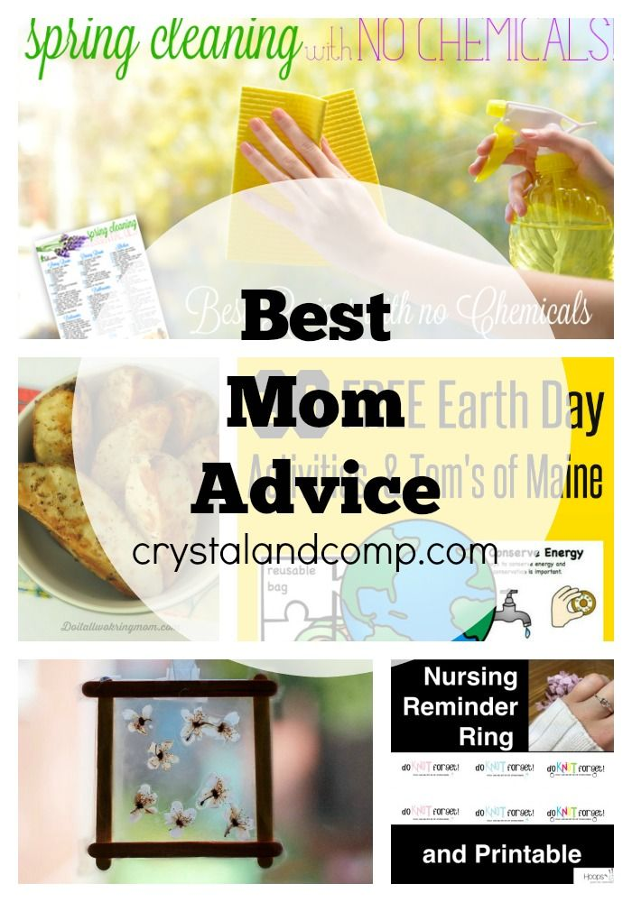 best mom advice on the internet!