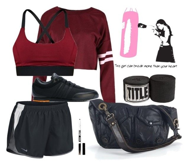 """""""Girl in the Rink"""" by thanishxx1 on Polyvore featuring mode, NIKE, Eyeko, Y-3, Missoni Sport, Boxing en girl_Boxer"""