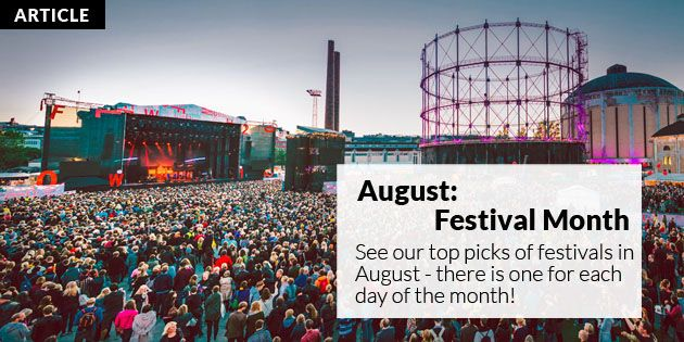 Festivals in August | Helsinki This Week