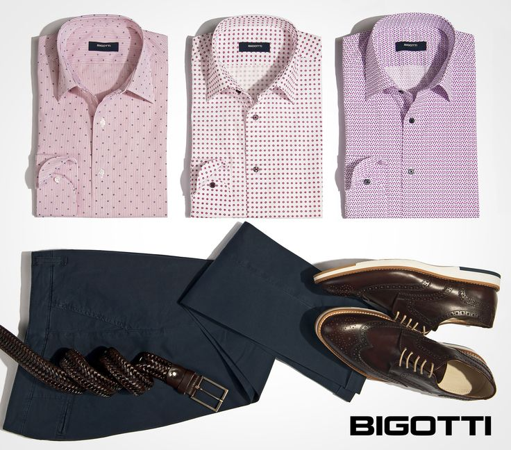 #Pink makes a #great #addition to #outfits that have #dark #neutrals  #Shirts on #sale - 50% OFF www.bigotti.ro #follow #ootdmen#ootd #mensfashion #menswear #mensclothing #moda #barbati #reduceri #discounts #fashiontag #stylingtips #roz #nuante #mensstyle