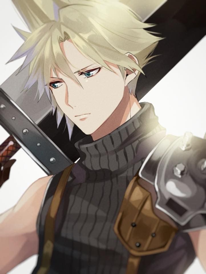 Pin By Us Fa On On Living Legacy Of Final Fantasy Vii Final Fantasy Cloud Final Fantasy Artwork Final Fantasy Vii Cloud