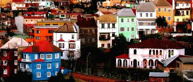 Valparaiso, múltiples colores #rafael #fischer #pintura #arte #valparaiso