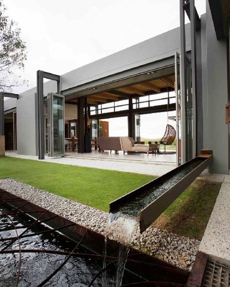 We Like The Unique Use Of Steel In Select Areas...both Inside And.  Architecture DesignArchitecture InteriorsArchitecture ...
