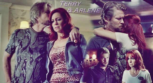 Terry and Arlene - True Blood