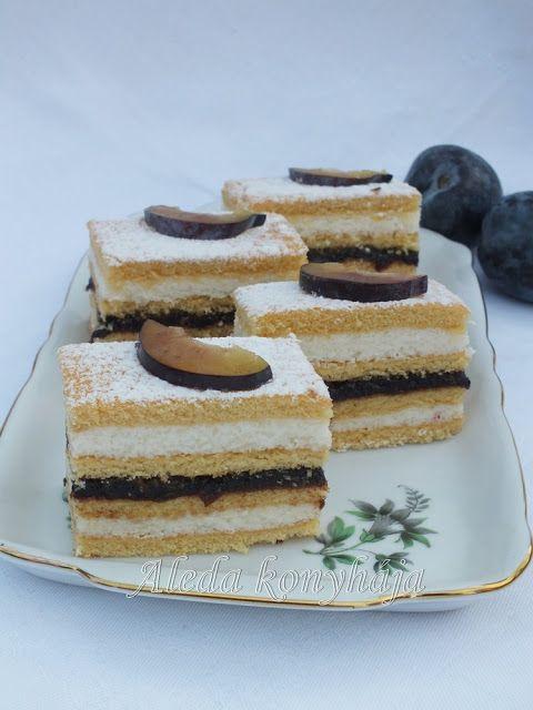 Aleda konyhája: Szilvaízes mézes sütemény