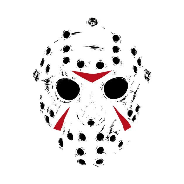 Check Out This Awesome Jason Voorhees Mask Design On Teepublic Jason Voorhees Drawing Jason Voorhees Art Jason Voorhees