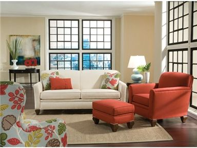 Shop For Smith Brothers Two Cushion Sofa, And Other Living Room Sofas At  Kettle River Furniture And Bedding In Edwardsville, IL.