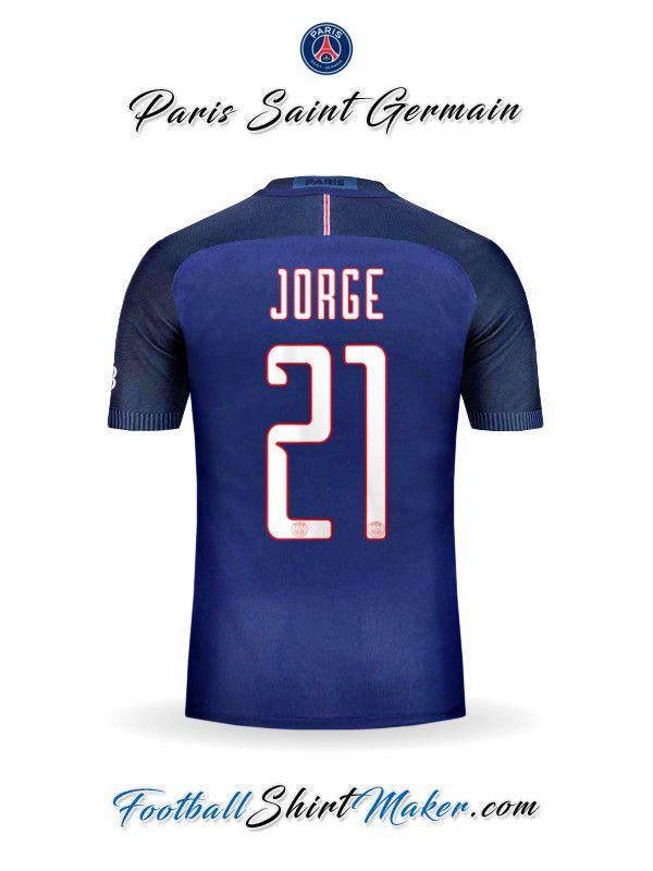 Camiseta Paris Saint Germain 2016/2017 UCL Jorge 21