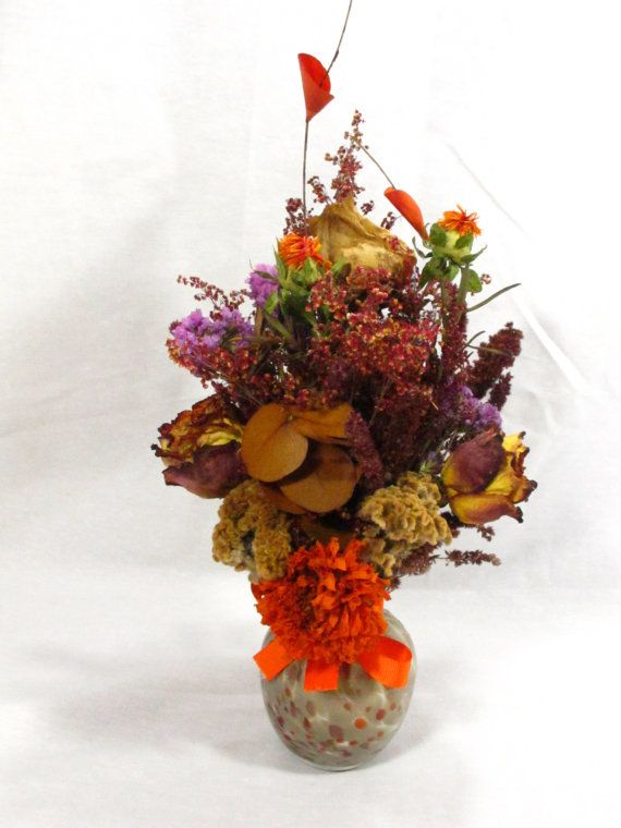 Fall Dry Flower Arrangement For Your Living Room Dining Fireplace Mantle Bedroom
