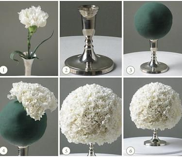 Blog for Overwhelmed Brides who need wedding tips and wedding help. Here's instructions to #DIY a centerpiece