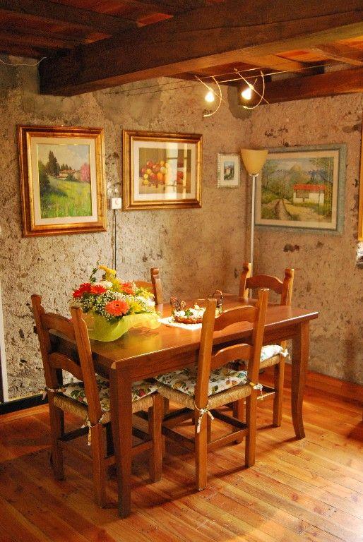 Bagni di Lucca house rental - Dining area