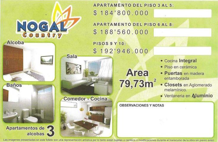 Vendo Apartamentos Nogal Country, en Ceiba 2 - Cúcuta - http://www.inmobiliariafinar.com/vendo-apartamentos-nogal-country-en-ceiba-2-cucuta/