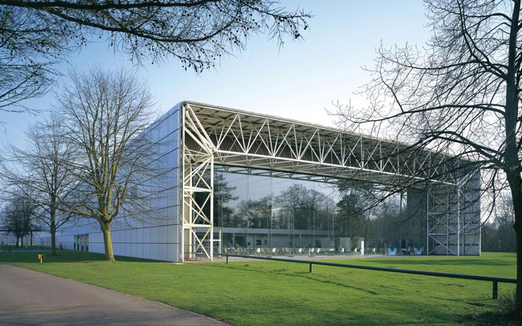 """""""If modern architecture floats your boat, you might want to make a pilgrimage west of the city where you'll find the Sainsbury Centre for Visual Arts, an aircraft hangar of a building designed by Sir Norman Foster when he was still relatively unknown."""""""