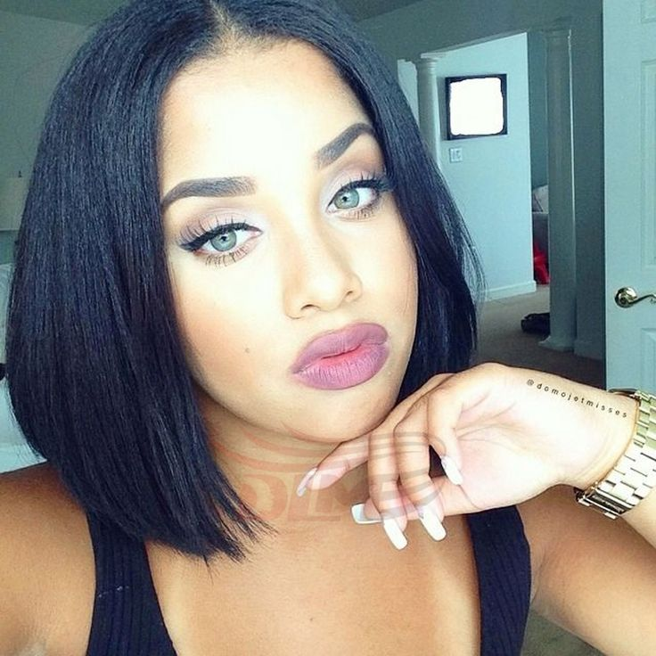 Awesome 1000 Ideas About Middle Part Bob On Pinterest Middle Parts Short Hairstyles Gunalazisus