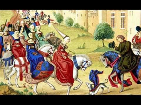 Middeleeuwse muziek met mooie plaatjes. Leuk om aan te zetten als inleiding. Alsof je te gast bent bij een feest in een kasteel.