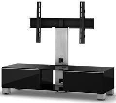 Sonorous MD 8123-B-INX-BLK  — 48600 руб. —  Надежная стойка под телевизоры с универсальным поворотным креплением из закаленного стекла с полированной кромкой. Поворотное крепление подходит для всех видов плоских телевизоров (LCD, LED и плазма) и имеет возможность регулировки высоты. В задней ножке расположен кабель-канал для маскировки проводов и кабеле. Оснащена скрытой роликовой системой для плавного перемещения ТВ стойки вместе с телевизором и другой аппаратурой. Стойка предназначена для…