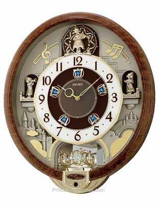 Seiko Model Qxm274brh Show More Seiko Clocks Seiko Musical