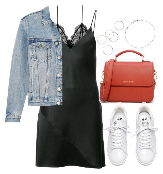"""""""Untitled #4117"""" by theeuropeancloset ❤ liked on Polyvore featuring Anine Bing, Fleur du Mal, CHARLES & KEITH, Frame and Astley Clarke"""