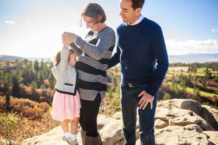 Denver Maternity Photographers | Maternity Photography | Colorado Pregnancy Photos | With Sibling | Big Sister