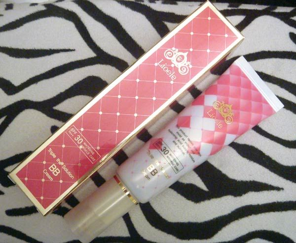 bb cream - korean women swear by it - this one is by lioele and it's called triple the solution bb cream with spf 30++