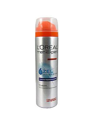 L'Oreal Men Expert to żel do golenia zapobiegający podrażnieniom dla mężczyzn. Doskonale nawilża skórę, zapobiegając jej podrażnieniu i wysuszeniu. Zapewnia ultrakomfortowe golenie.