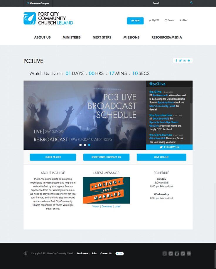7 best Church Website Pages images on Pinterest   Website designs ...