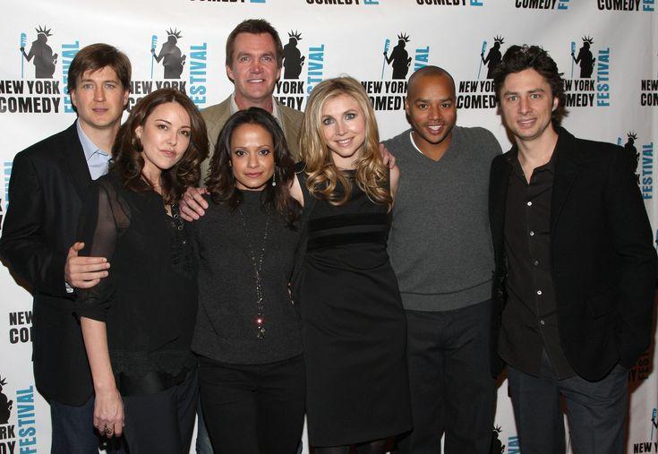 "The ""Scrubs"" cast.Photo by Jason Kempin/FilmMagic / Getty Images | Modern Brown Girl"