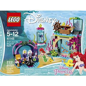 LEGO Disney Princess Ariel and the Magical Spell 222-Pc. Building Set - 41145