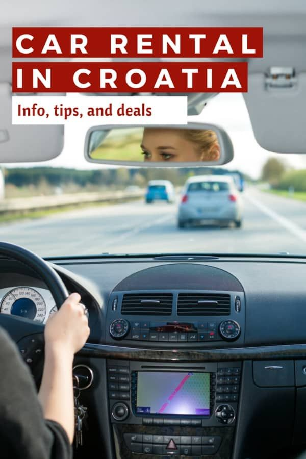 Car Rental In Croatia All You Need To Know About Rent A Car In Croatia Distracted Driving Car Rental Croatia Travel Guide