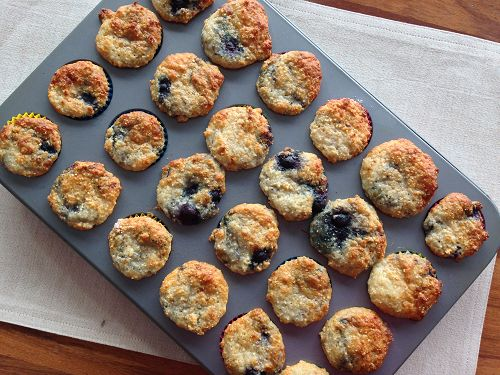 Yoghurt and Blueberry Muffins - Food Babies Love