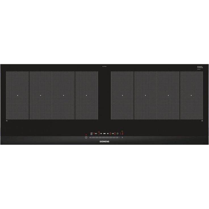 SIEMENS EX275FXB1E 90 cm flexInduction induction hob, stainless steel trim, touchSlider controls
