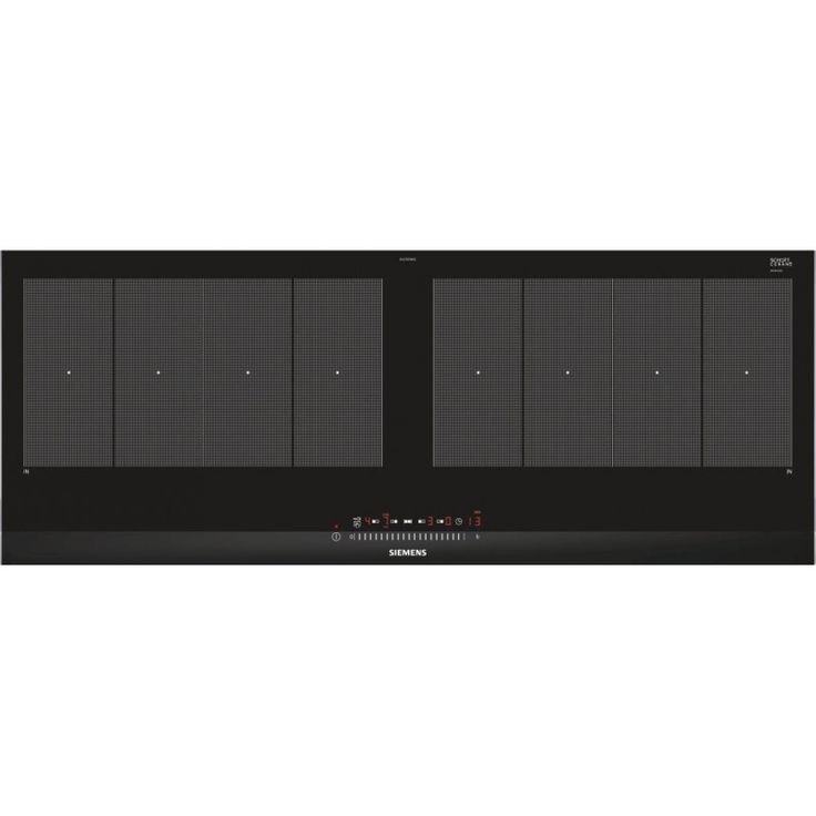 SIEMENS EX275FXB1E90 cm flexInduction induction hob, stainless steel trim, touchSlider controls