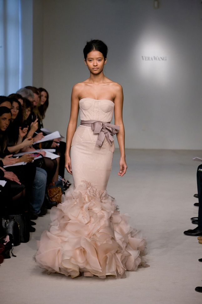 14 best images about modern bride on pinterest blush for Vera wang rose wedding dress