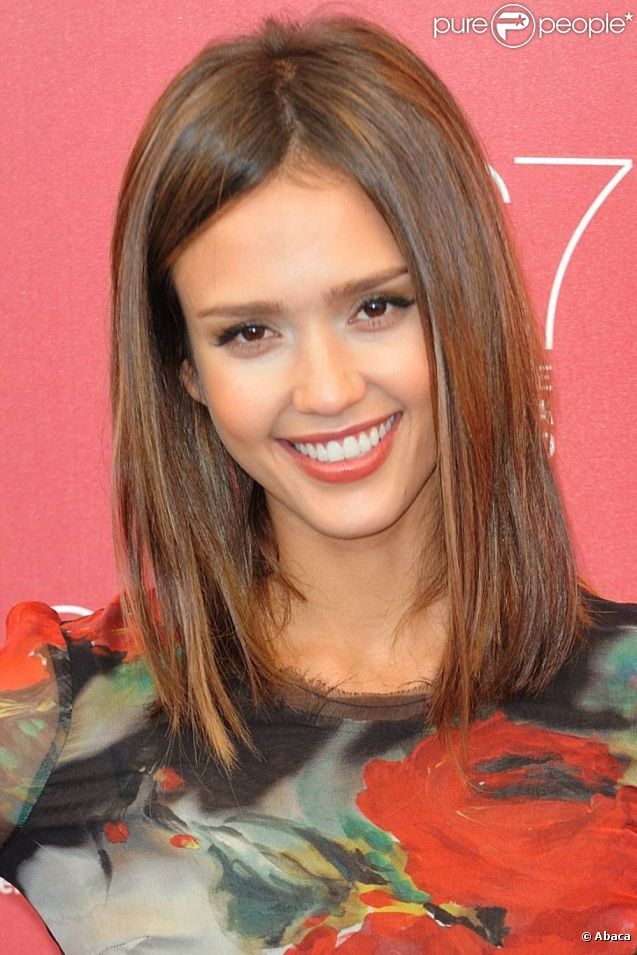 Jessica Alba short hair Hair Inspiration Pinterest