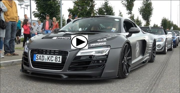 Audi R8 V10 Performance Exhaust