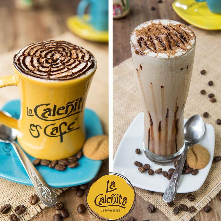 Café Frío o Caliente, la bebida nacional de todo colombiano. Tómate una rica taza o malteada de café en nuestro Café Bar La Caleñita. ☕😍💖 #ArtesaniasColombianas #LaCaleñita #CafeBar
