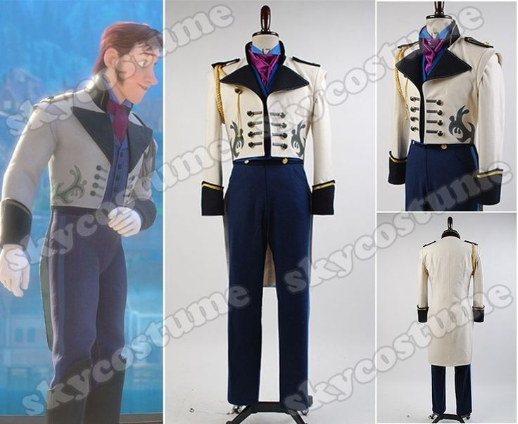 """Frozen"" Prince Hans Suit Cosplay  Costume.  Ok, so Prince Hans wasn't all he was supposed to be, but this costume is fantastic!"