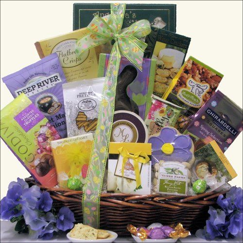 11 best easter gift baskets images on pinterest easter gift easter wishes large gourmet easter gift basket 10499 negle Images