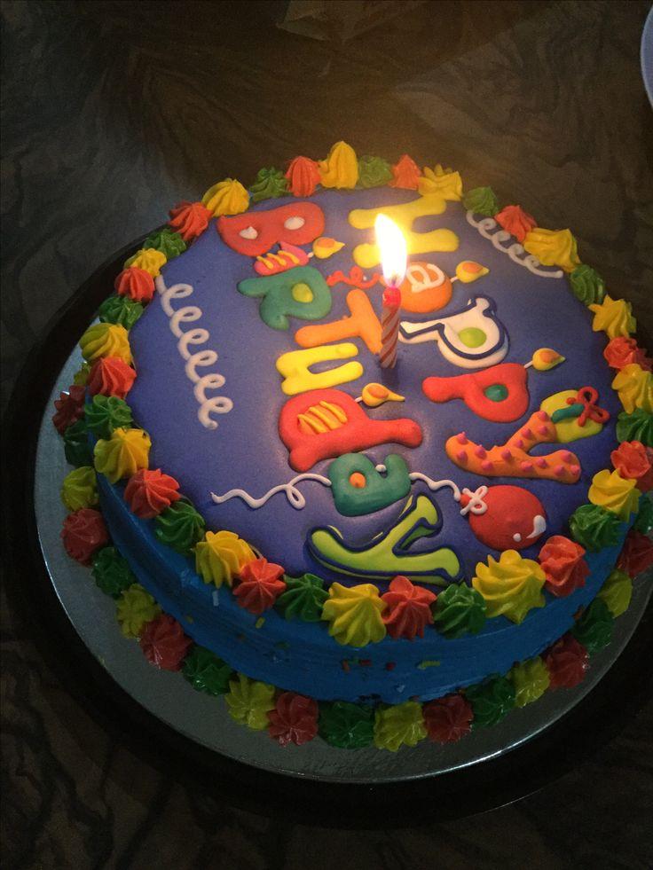 A very nice cake but the icing is sooo hard!