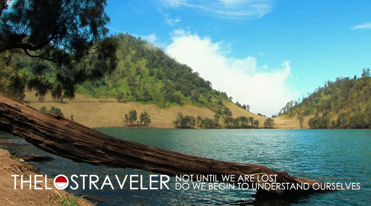 Danau Ranu Kumbolo in Malang, Jawa Timur