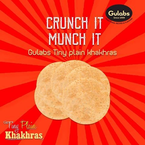 Tiny sized #Khakhras for your Quick, Anytime #Snack!   #gulabs #khakhra #food #foodie #foodporn #snacks #snack