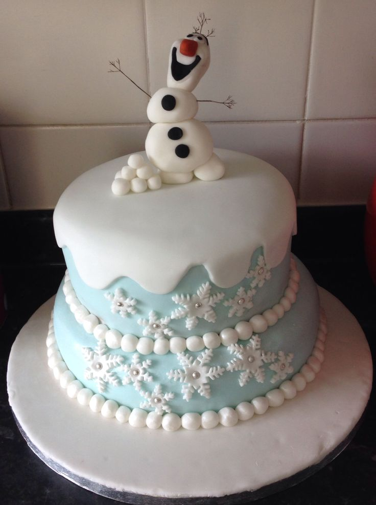Cake Decoration Olaf : 411 best images about Foods: Clever Cake Decorating on ...