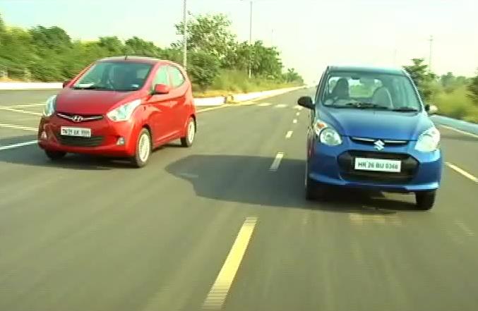 Maruti Suzuki's new Alto 800 takes the Hyundai Eon http://ndtv.in/UjgX7J