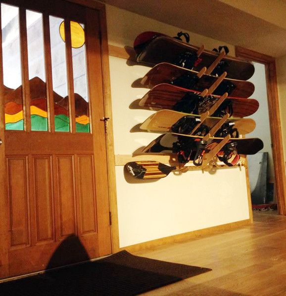 Grassracks Kaua'i Series Bamboo Board Racks. They'll never let you, or your boards, down. http://www.grassracks.com/products/surfboard-rack #surfrack #surfracks #surfing #surf #bamboo #organize