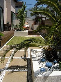ガーデン施工事例 / ガーデン、ビフォー・アフター(リフォーム)、アウトドアリビング、南欧、世田谷