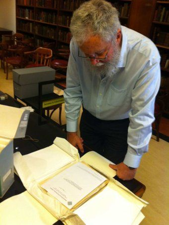 Treasure trove of Indigenous language documents unearthed at NSW State Library / Deborah Rice, ABC News 26 August 2013